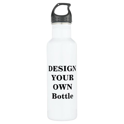 design your own liberty bottle 710 ml water bottle zazzle With design own water bottle