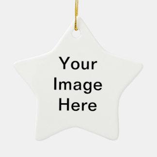 Design Your Own Logo Ceramic Star Decoration