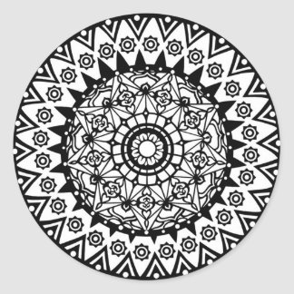 Design Your Own Mandala Stickers