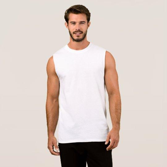 Men's Ultra Cotton Sleeveless T-Shirt, White