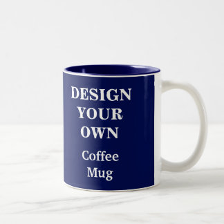 Design Your Own Mug - Blue