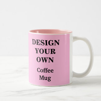 Design Your Own Mug - Light Pink