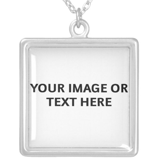 Design Your Own Necklace (Square Pendant)