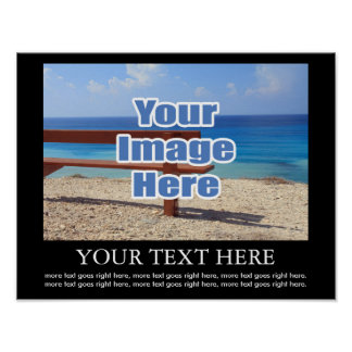 Design Your Own Personalized Image And Text Poster