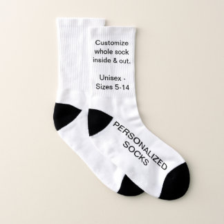 Design Your Own Personalized Small Socks 1