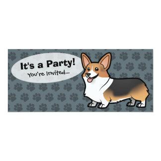 Design Your Own Pet 10 Cm X 24 Cm Invitation Card
