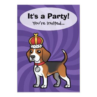 Design your own pet 13 cm x 18 cm invitation card