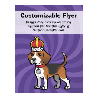 Design Your Own Pet 21.5 Cm X 28 Cm Flyer