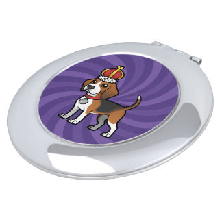 Design your own pet compact mirrors
