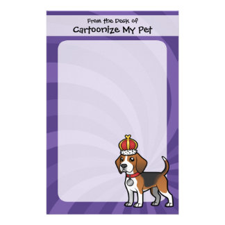 Design Your Own Pet Customized Stationery