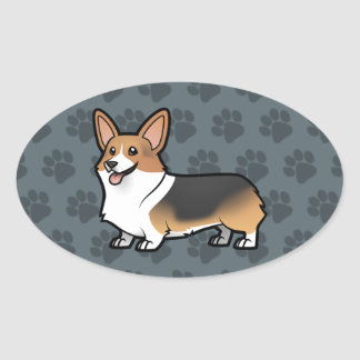 Design Your Own Pet Oval Sticker