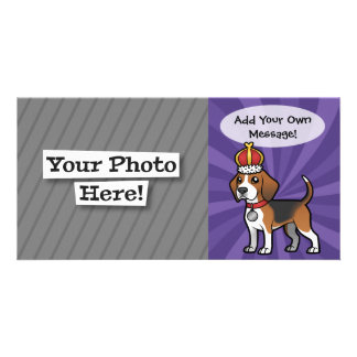 Design Your Own Pet Personalised Photo Card