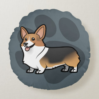 Design Your Own Pet Round Cushion