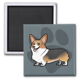 Design Your Own Pet Square Magnet