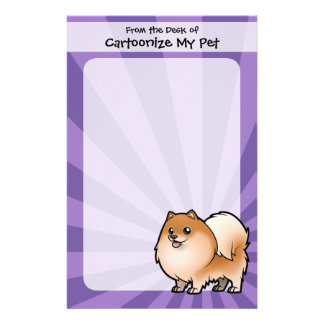 Design Your Own Pet Stationery Paper