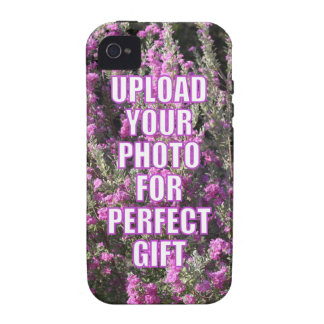 Design Your Own Photo Product Personalized Present Vibe iPhone 4 Cover