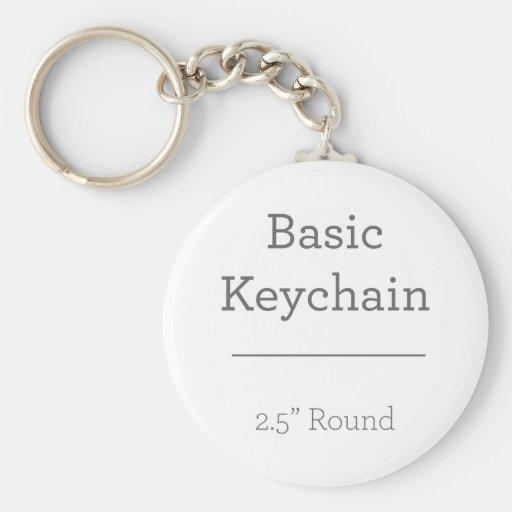 Design Your Own Round Photo Keychain