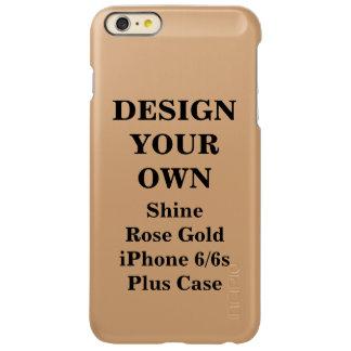 Design Your Own Shine Rose Gold iPhone 6/6s Plus iPhone 6 Plus Case