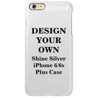 Design Your Own Shine Silver iPhone 6/6s Plus Case iPhone 6 Plus Case