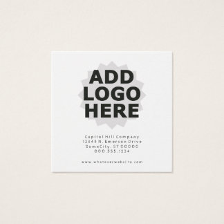design your own square business card