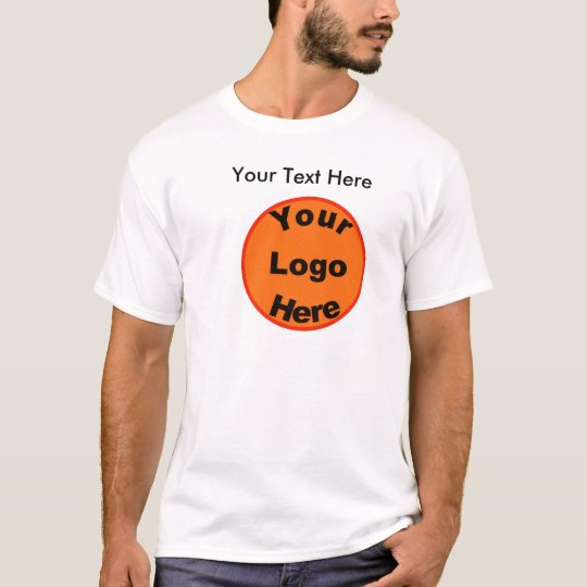 Design Your Own T-Shirt W/Logo & Front &