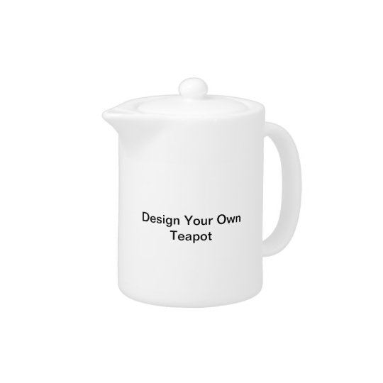 'Design Your Own' Teapot