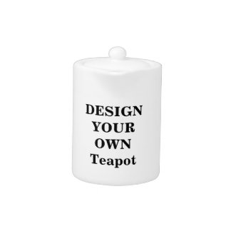 Design Your Own Teapot