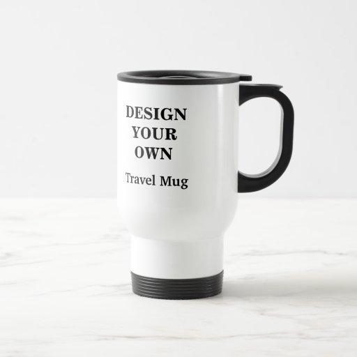 Design Your Own Travel Mug - White