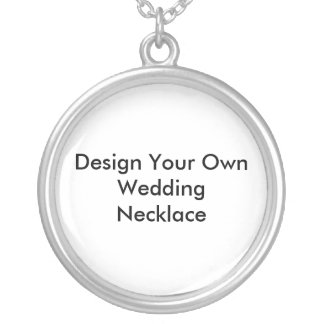 Design Your Own Wedding Necklaces