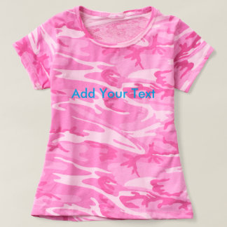 Design Your Own Women's Camouflage T-Shirt