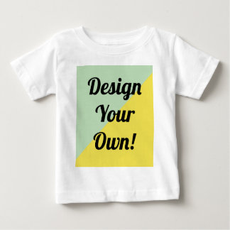 Design Your Personalise Gift Baby T-Shirt