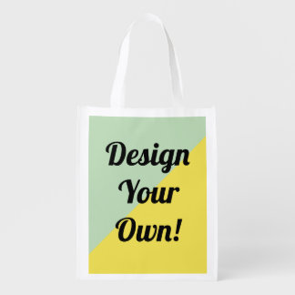 Design Your Personalise Gift Reusable Grocery Bag
