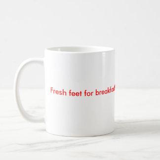 designall.dll, Fresh feet for breakfast! Basic White Mug