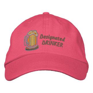 Designated Drinker Embroidered Baseball Cap