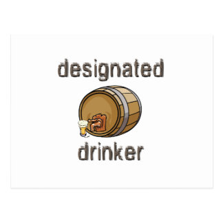 Designated Drinker Post Cards