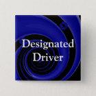 Designated Driver 15 Cm Square Badge