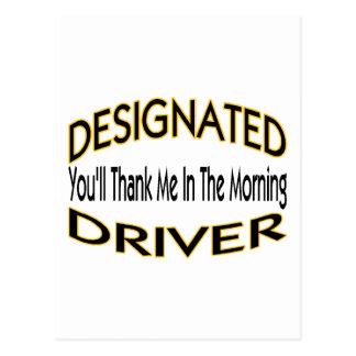 Designated Driver Postcard