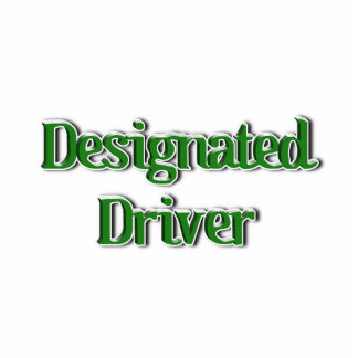 Designated Driver Text Image Photo Cut Out