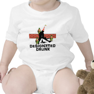 Designated drunk baby bodysuit