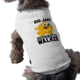 Designated WALKER Doggy ... ; ) by SRF Sleeveless Dog Shirt