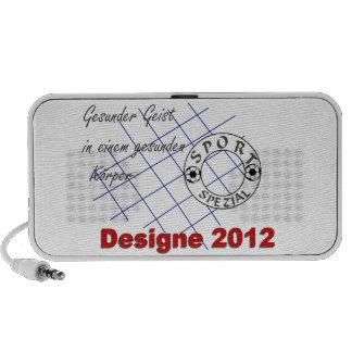 Designe 2012 iPod speaker