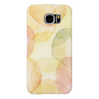 Designed abstract background with watercolor samsung galaxy s6 cases
