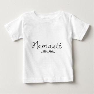 Designed Namaste Yoga Baby T-Shirt