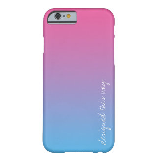 designed this way - bisexual pride phone case
