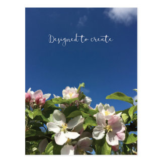 Designed to create inspirational postcard