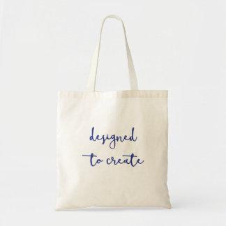 Designed to create tote bag