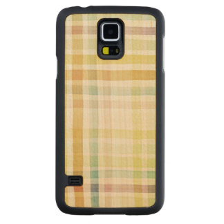 Designed watercolor art background, texture 2 carved maple galaxy s5 case