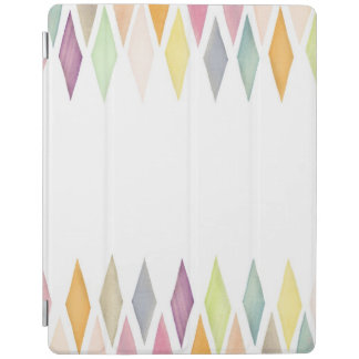 Designed watercolor background iPad cover