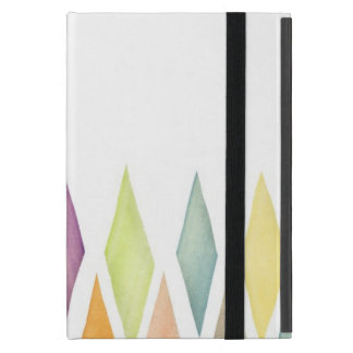 Designed watercolor background iPad mini cover