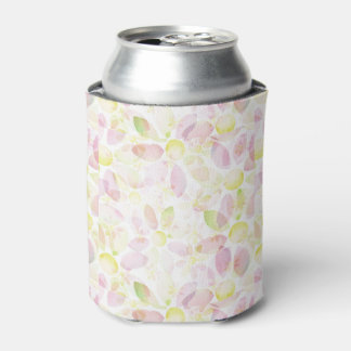 Designed watercolor flower background, texture can cooler